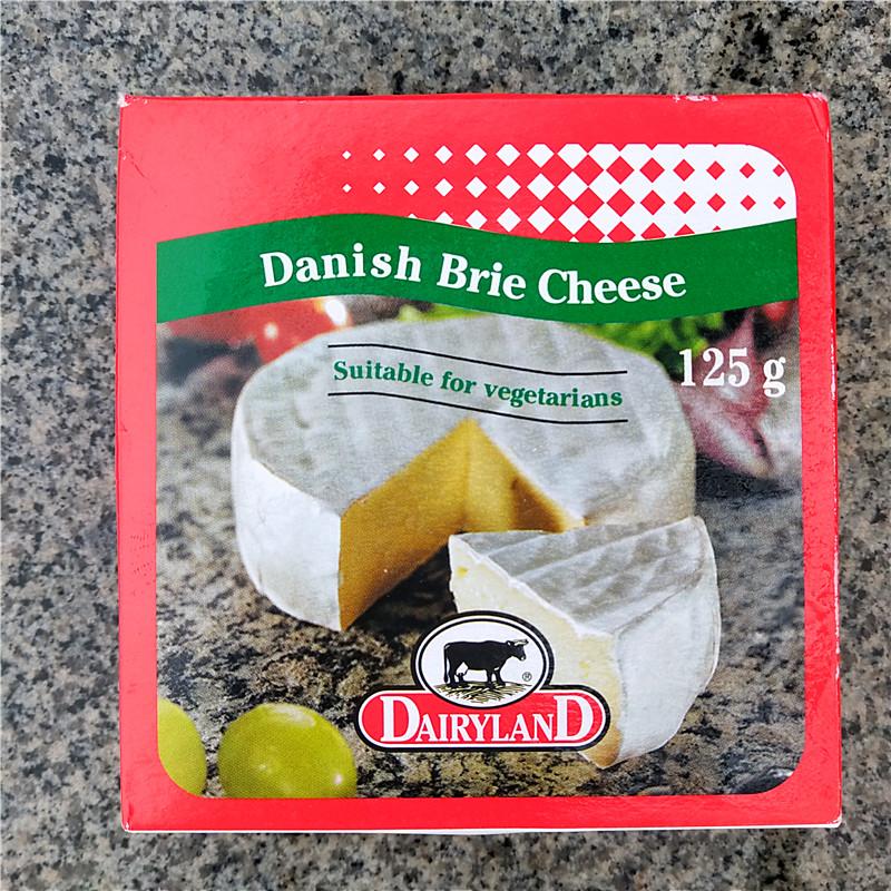 25.30元包邮125g丹麦琪雷萨布里白软必然干酪