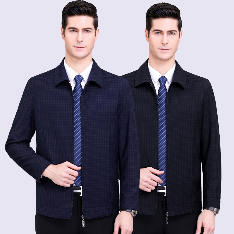 Spring 2020 new mens casual coat Hengyuanxiang mens fashion casual solid color business jacket 1967