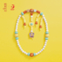 Can Lai Sai Forbidden City Forbidden Series Beaded Children's Toy Building Blocks Drawstring Early Education 3--6-year-old Male and Female Baby