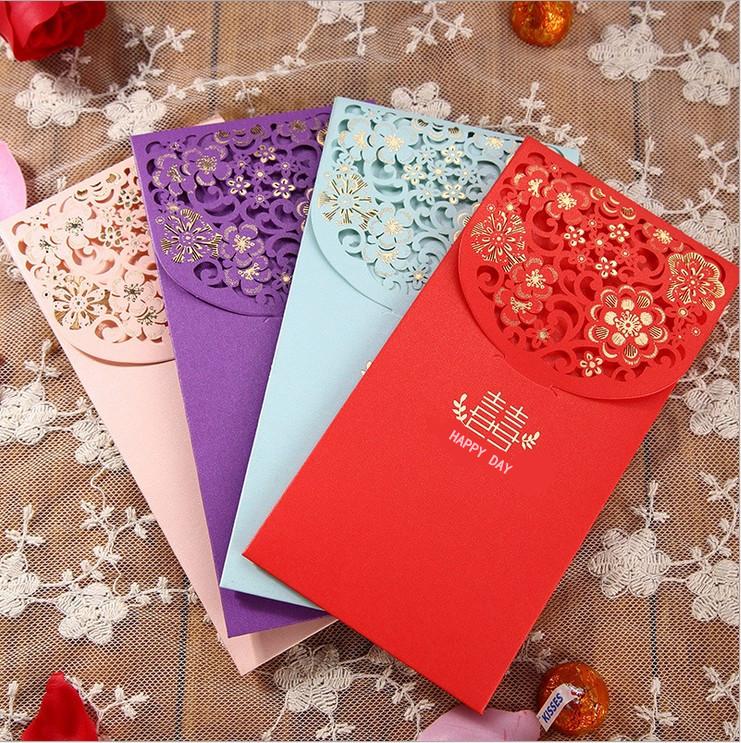2019赤い袋のアイデアは高級で、結婚式の結婚式の結婚式の結婚式のお祝いの利は新年の福の字を閉じてお祝いするのです。