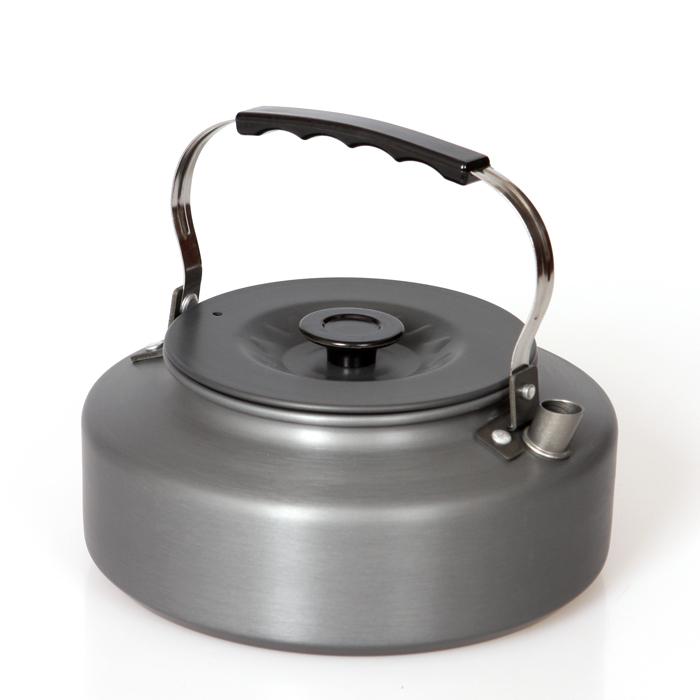 户外茶壶便携式野餐炉具烧茶壶 烧烤野营烧水壶1.6升咖啡壶