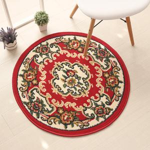 欧式圆形地垫电脑椅垫子转椅吊篮地毯家用客厅房间卧室床边脚垫