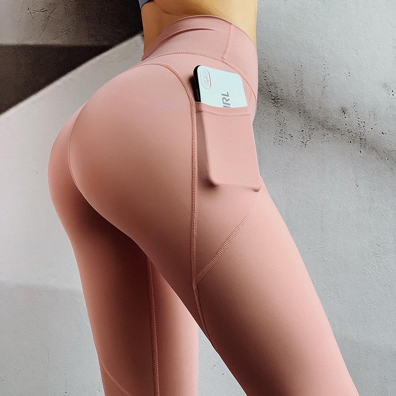 高腰瑜伽裤女紧身翘臀提臀运动裤速干薄款夏季健身训练七分裤外穿11-07新券