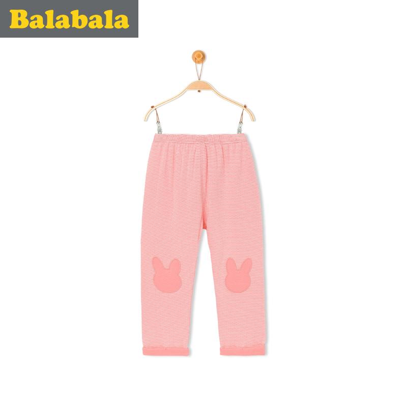 巴拉巴拉 女童嬰童長褲小童寶寶褲子2016秋裝純棉兒童童褲女秋