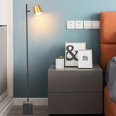 落地灯极简客厅现代简约轻奢北欧ins风网红沙发卧室床头立式台灯