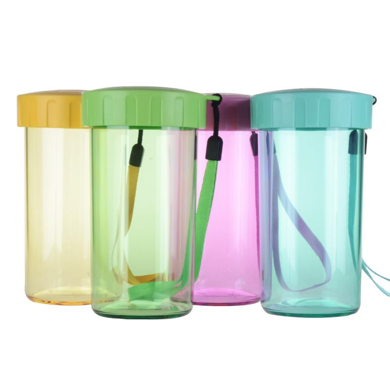 特百惠雅致310ML隨心水杯便攜防漏 塑料水杯兒童學生耐熱杯子
