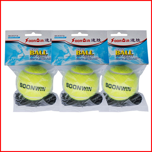 Quick win 801c with rope and line training tennis ball can be equipped with base and handle swing ball fitness tennis ball