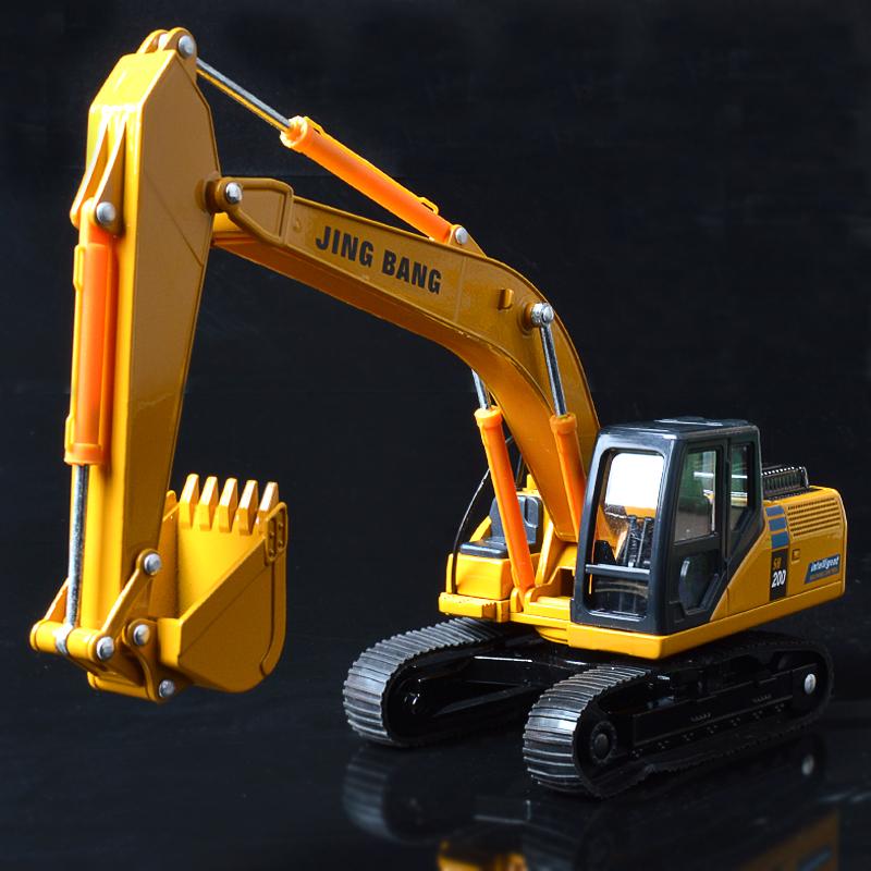 大号履带式挖掘机挖土机玩具合金挖挖机工程车小汽车模型男生孩儿