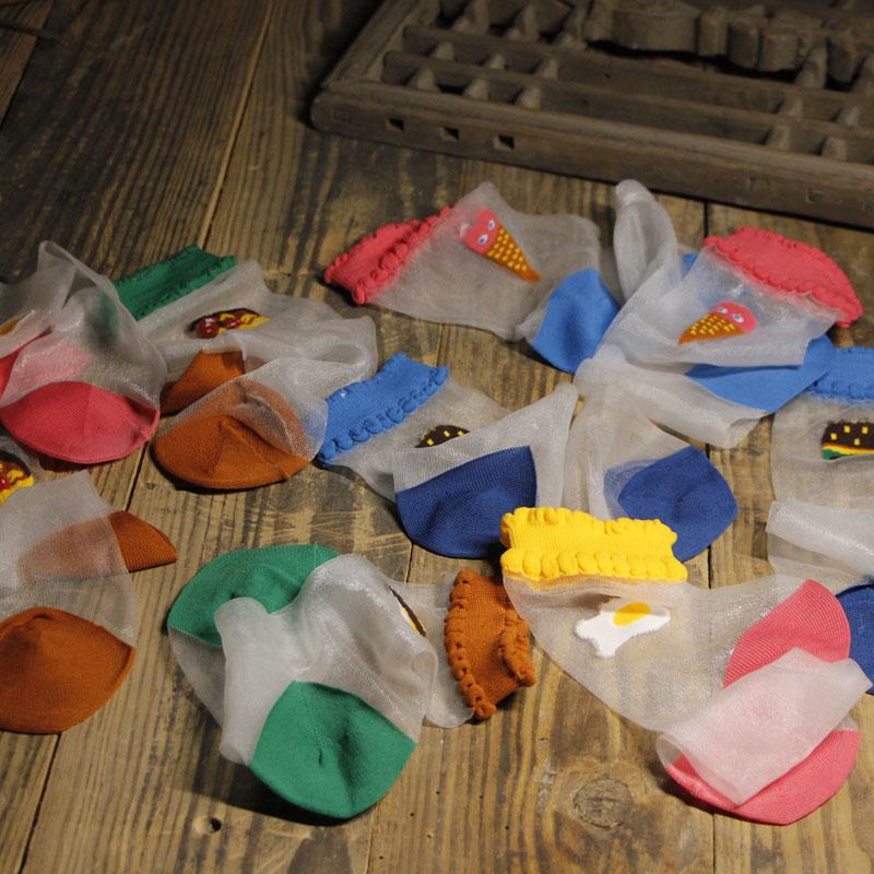 日系韩国可爱夏季超薄透明玻璃丝袜水晶袜学生中筒袜子女韩版潮袜
