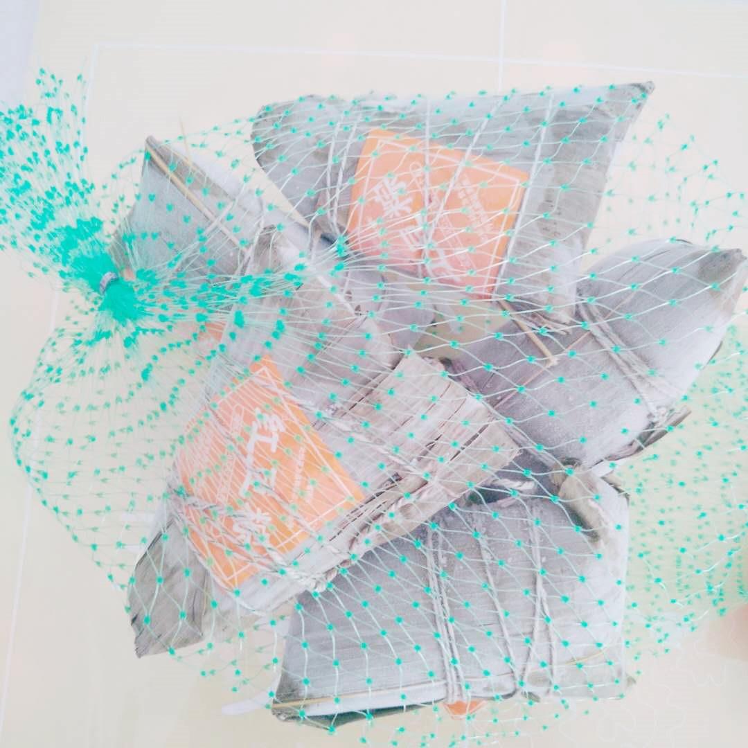 嘉兴风味速冻网兜粽子蜜枣黑米八宝豆沙粽端午加热即食早餐500g装