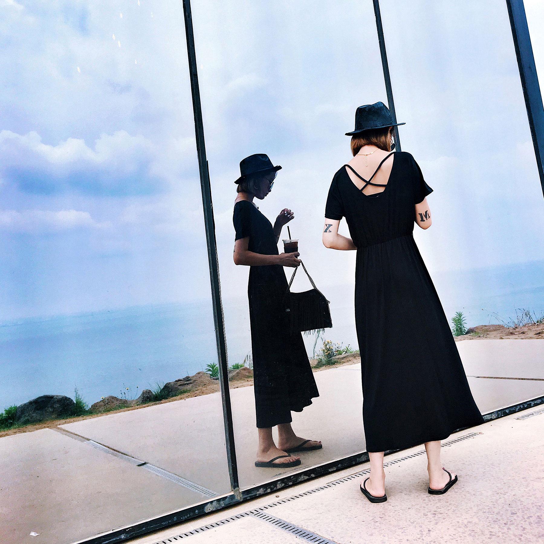 券后109.00元夏季女装法国小众复古气质少连衣裙