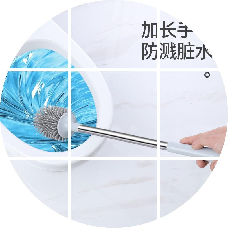 中國代購|中國批發-ibuy99|刷子|马桶刷无死角马桶清洗刷软毛卫生间清洁套装家用长柄创意厕所刷子