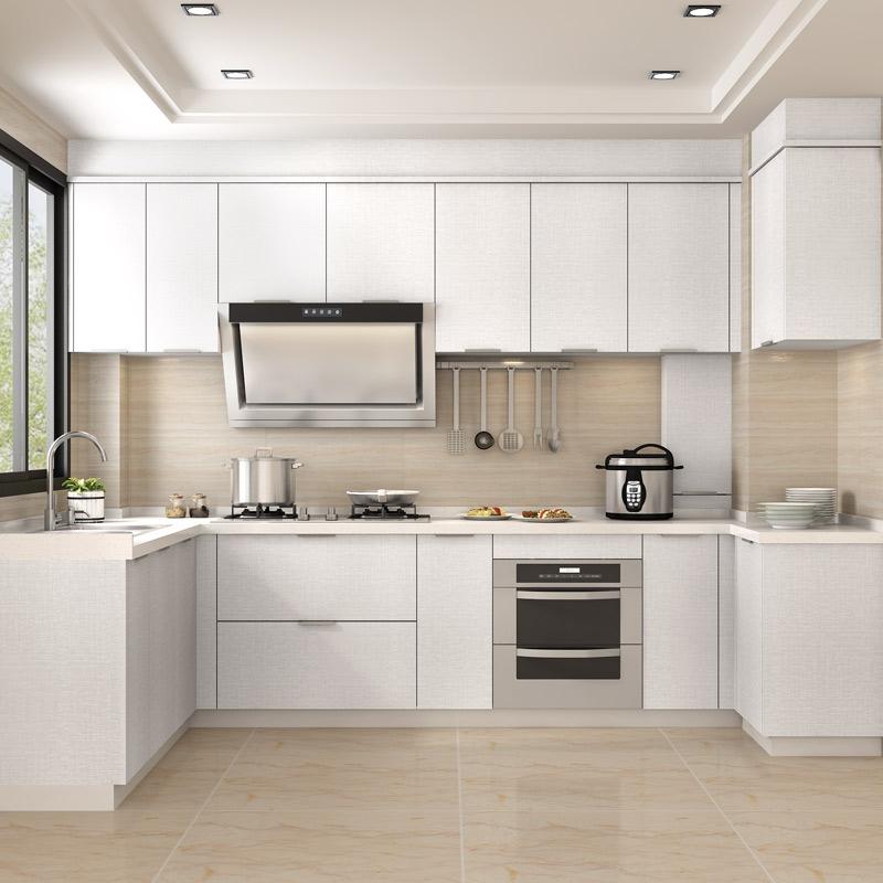 金牌厨柜整体橱柜定做厨房装修定制现代简约金牌橱柜枫之木语2