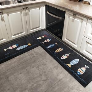 厨房吸水防油长条浴室防滑家用门垫