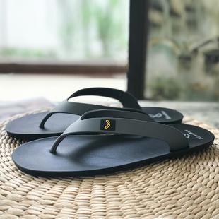 男泰国原装 进口天然乳胶不磨脚防滑不臭脚户外沙滩鞋 潮牌 人字拖鞋
