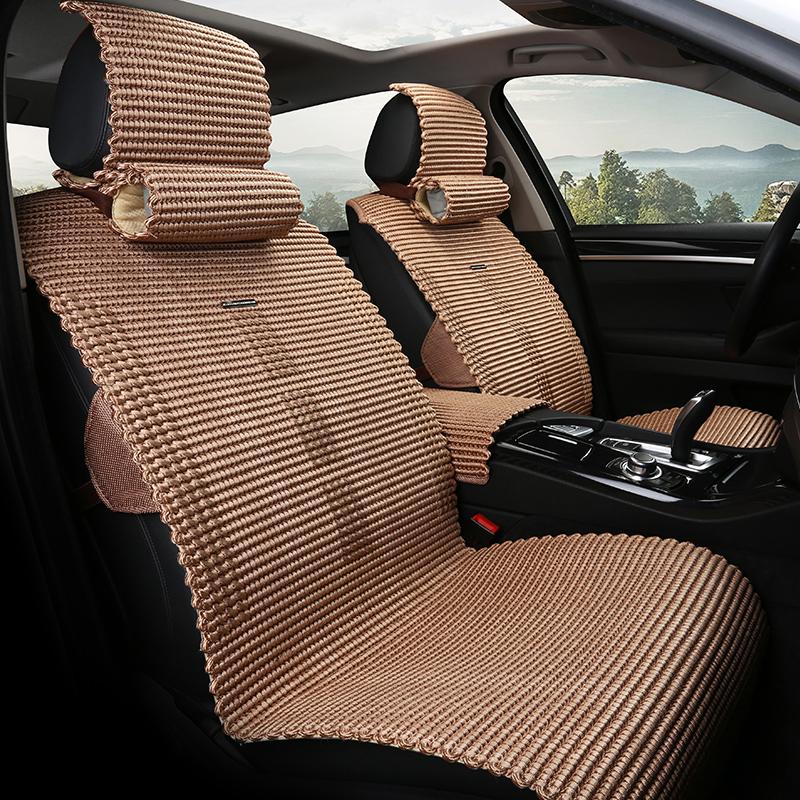汽车坐垫夏季天凉垫2018款雪铁龙C4LC6新世嘉C3-XR冰丝新远景座垫
