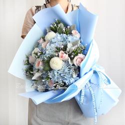 天津北京鲜花速递同城送花玫瑰向日葵混搭花束女朋友生日订花配送