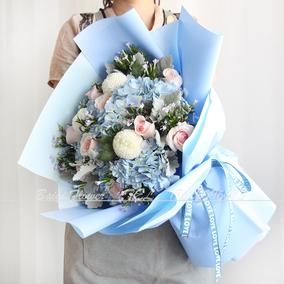 天津北京鲜花同城速递闺蜜女友生日花束花店送花红玫瑰向日葵百合