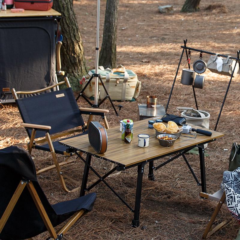 nh挪客户外折叠桌简易露营摆摊桌子