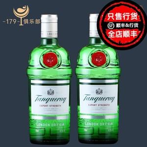 双瓶组合装!!添加利金酒 *2 Tanqueray GIN 杜松子酒 英国 洋酒