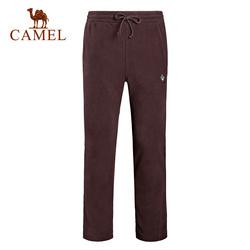 骆驼&8264登山队系列 户外抓绒裤男加绒防风防寒保暖摇粒绒长裤子