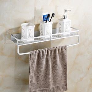 免打孔浴室镜前化妆品托盘带洗手间