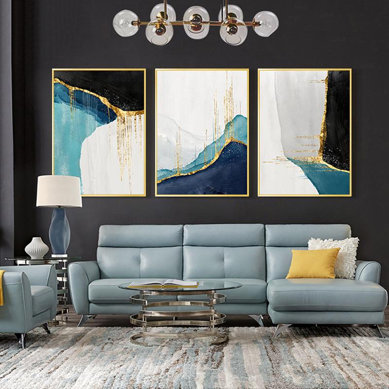 大气沙发现代简约抽象客厅装饰画