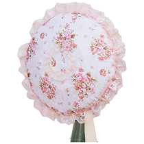 An idyllic fabric lace electric fan hood fan cover fans covered desktop floor fan cover