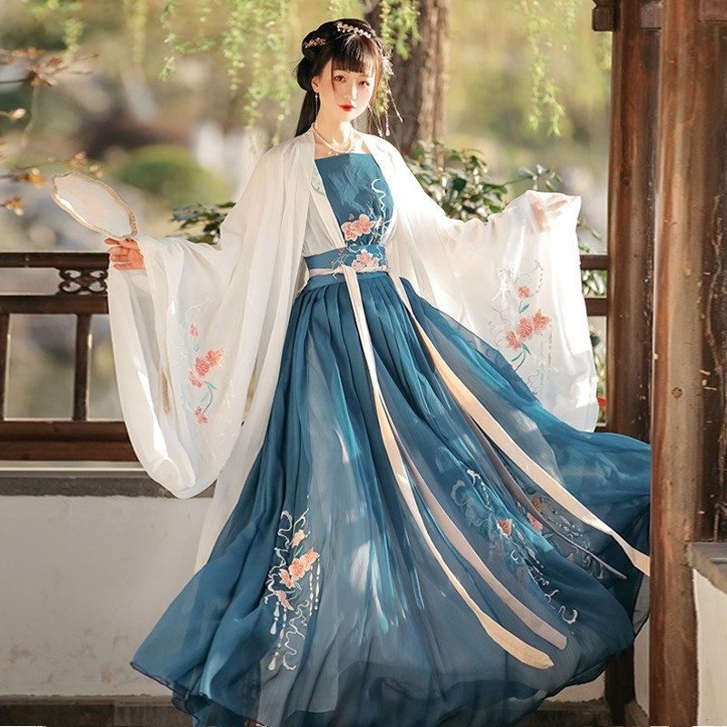 Hanfu female summer fairy-like little man returns to Hanjiao Han ancient Tangfu female Chinese style waist