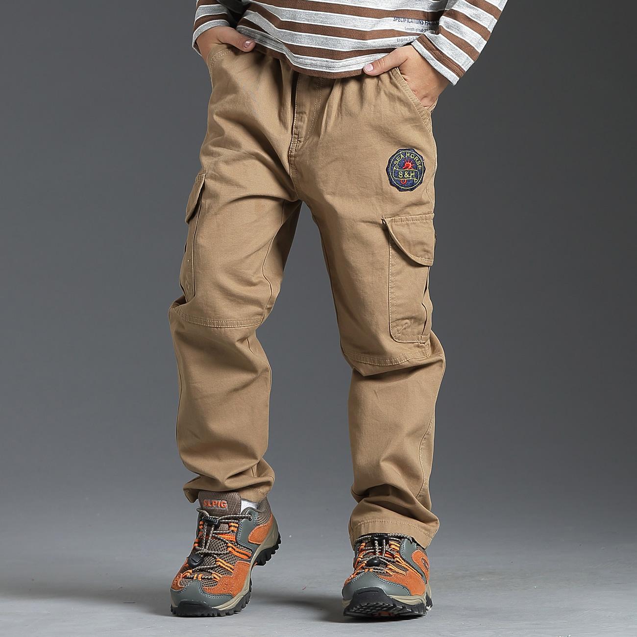 海吉瑪男童 高腰工裝褲