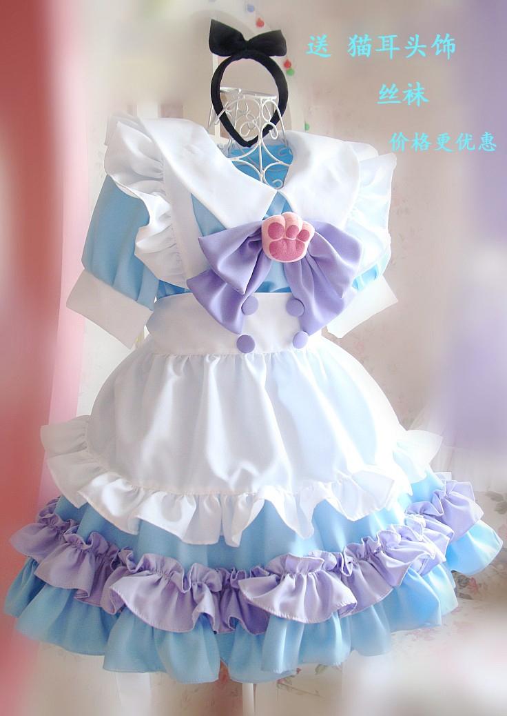 Princess Lolita Maid Dress cute Lolita maid maid dress new Cosplay Japan animation show Costume