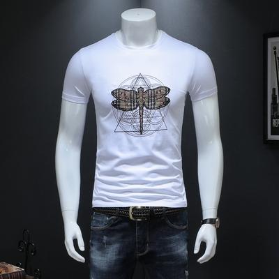 男士短袖T恤2019夏季新款半袖修身体恤衫6628 P53