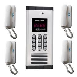 兼容家乐福家禄福楼宇对讲系统 非可视语音楼宇对讲主机 电话门铃