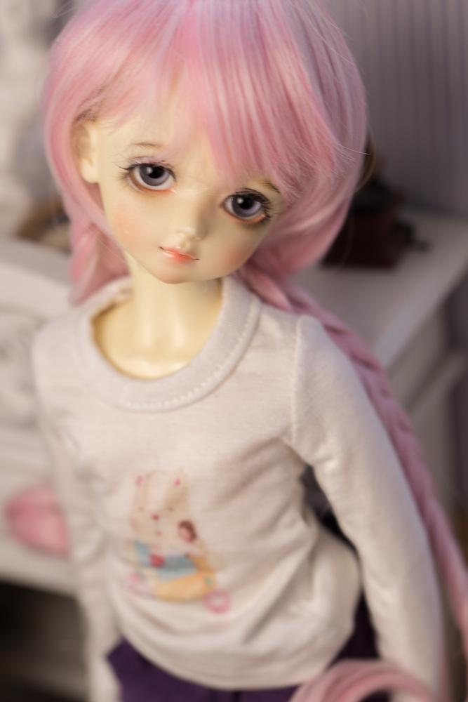 【endless】msd/4分假发假毛玩偶头发娃娃假发bjd假发头套