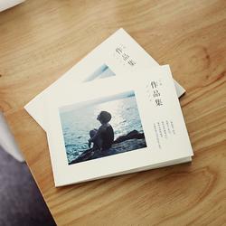 文艺照片书摄影师作品集个性定制旅行婚纱相册印刷diy情人节礼物