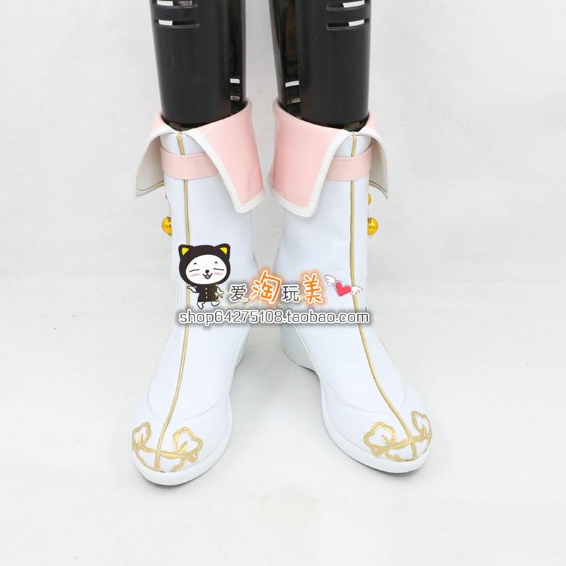 少年锦衣卫cosplay九公主朱延�矶�漫COSPLAY鞋定做