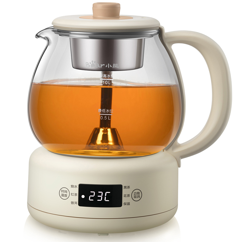 Bear/小熊 ZCQ-A10W5煮茶器茶壶黑茶普洱蒸茶器家用全自动养生壶