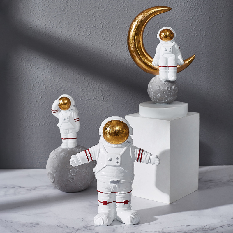 Nordic Simple Astronaut Decoration Room Bedside Artwork