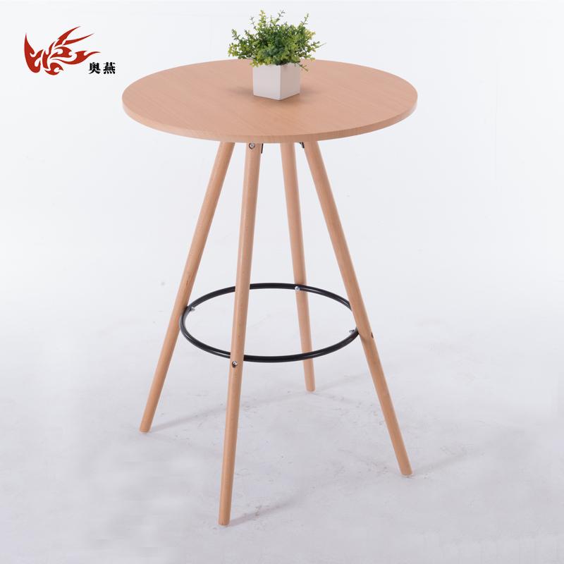Ирак уильямс бар стол современный простой опираться на стена домой высокий стол творческий вход стол узкий стол ходули стол