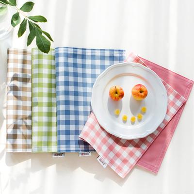 北欧学生餐垫布艺摆拍西餐垫防烫餐桌垫隔热餐具垫儿童餐布小方巾