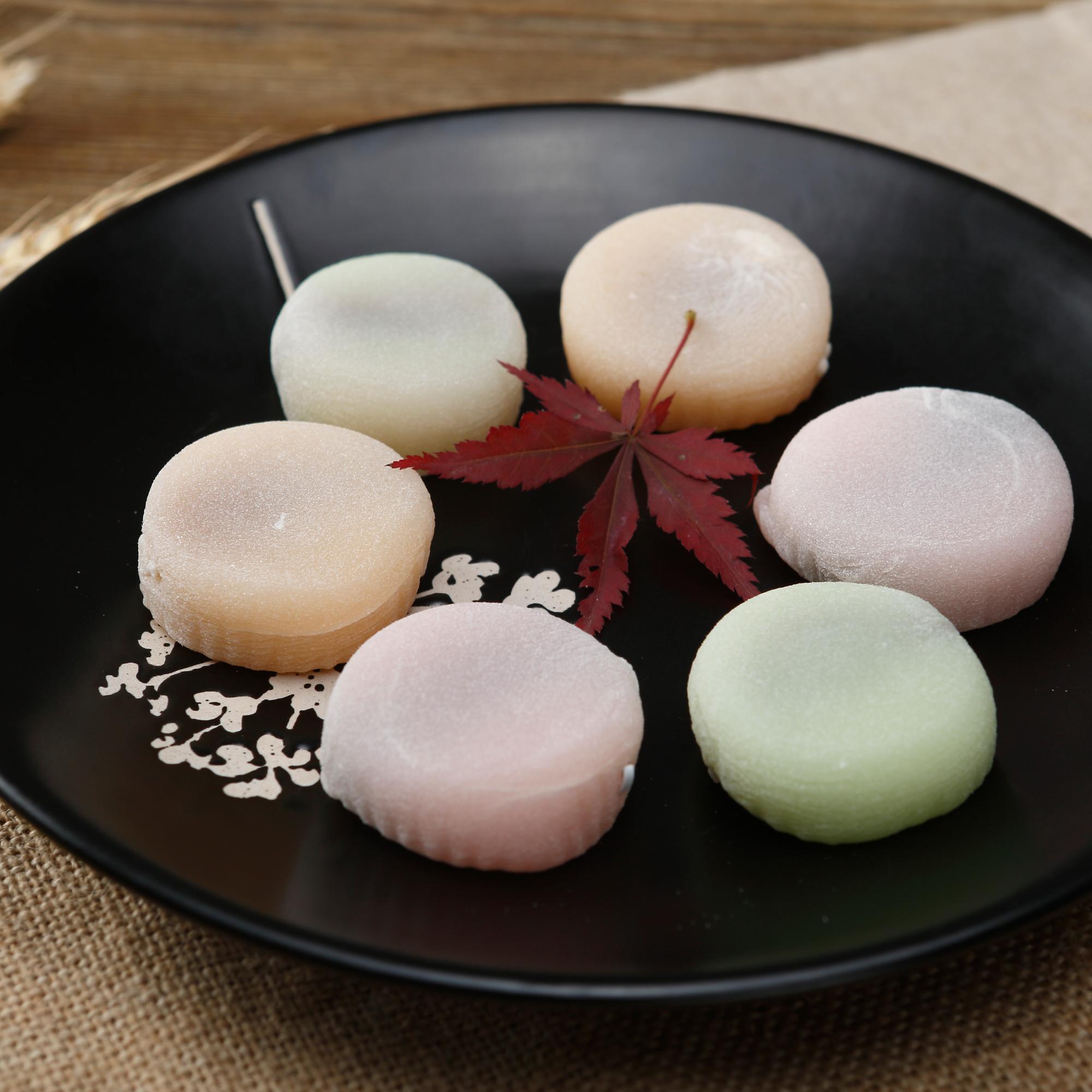 2件包邮 西塘特产麻�^100G 外婆家糕坊传统美食 香糯可口豆沙夹心