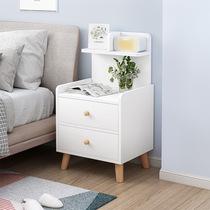 床头柜简约现代北欧经济型床边小柜子迷你储物收纳柜置物架子包邮