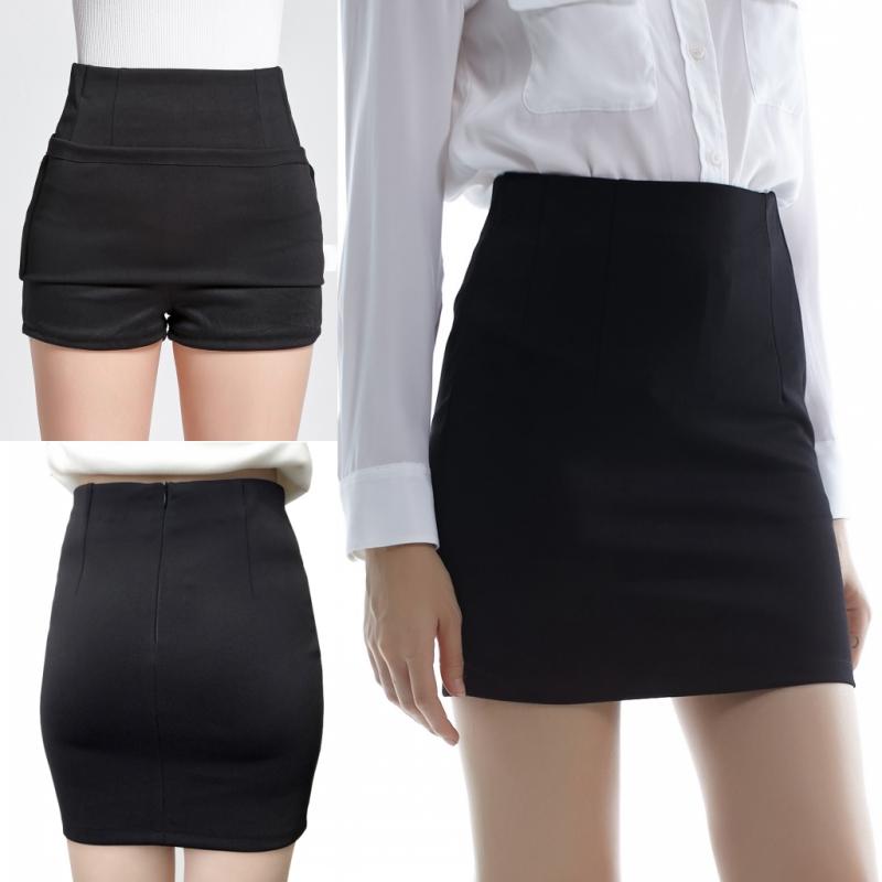 Корейский оккупация юбка весна пакет бедра юбка тонкий шаг юбка юбка работа эластичность талия юбка костюм платье женщин