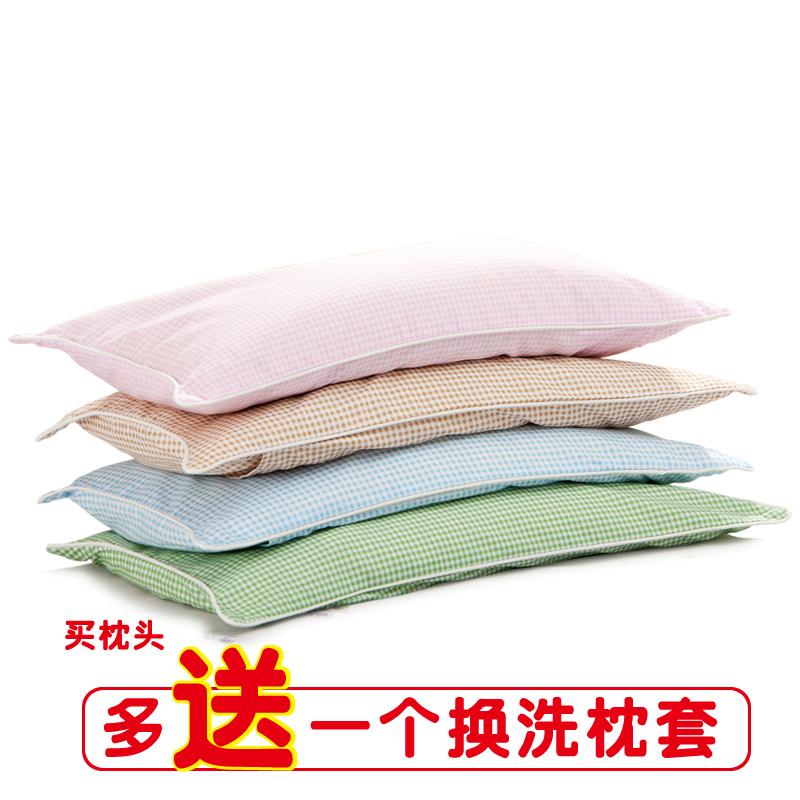 2-6-12岁儿童决明子荞麦壳加长枕芯夏凉幼儿园学生蚕沙午睡小枕头