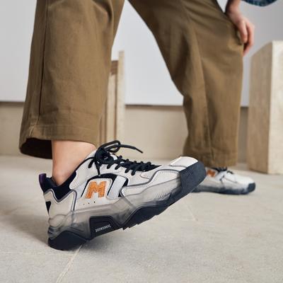 玛速主义 2021新款休闲白色老爹鞋女冬厚底运动鞋百搭ins潮跑步鞋