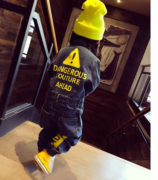 2020 spring and autumn childrens one-piece suit