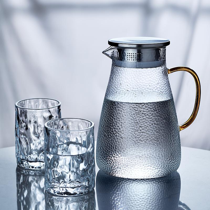 12-01新券玻璃耐热高温防爆家用晾瓶凉水壶