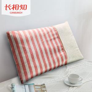 长相知家纺儿童学生枕芯针织棉枕头可拆洗枕套学子羽丝绒定型枕头