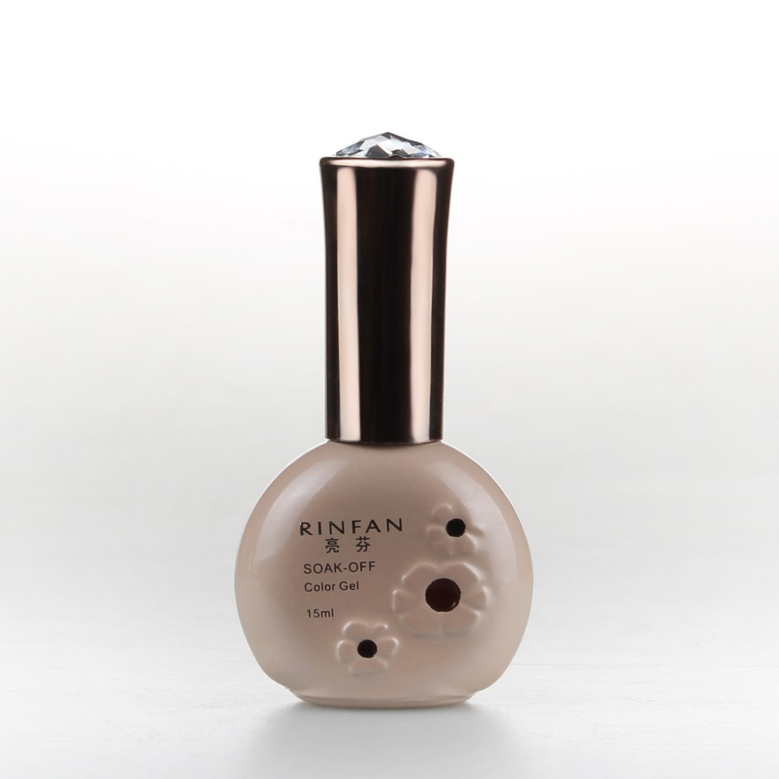 rinfan亮芬美甲环保无味QQ指甲油胶 光疗胶 芭比胶 蔻丹胶 底胶