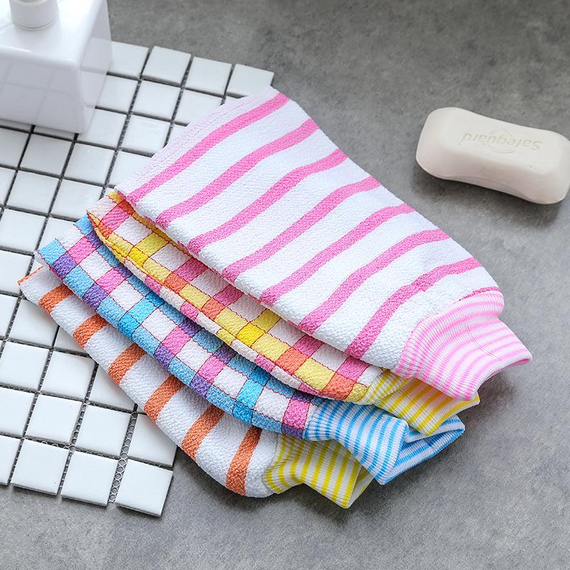 神奇免搓洗澡巾女韩国家用加厚沐浴手套强力搓泥搓背巾搓泥搓澡巾